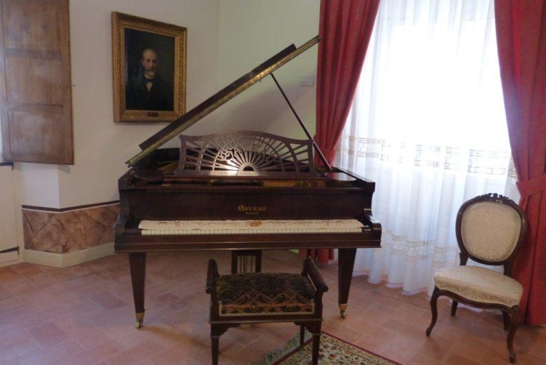 Piano en la Casa de Zorrilla