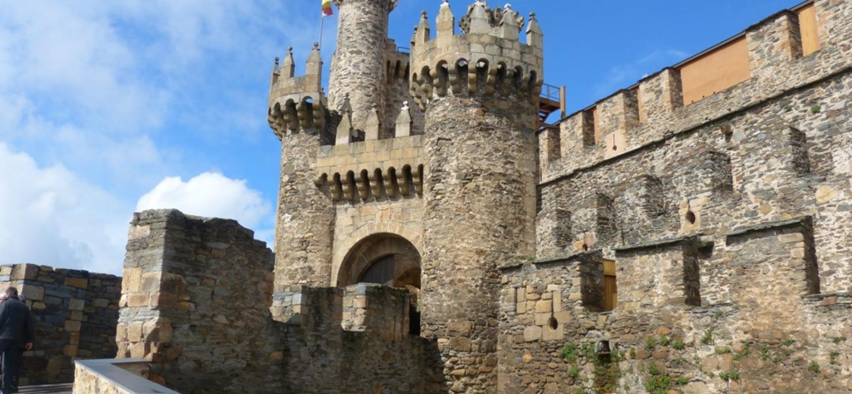 escapadas gastronómicas por Castilla y León - Castillo de los Templarios de Ponferrada