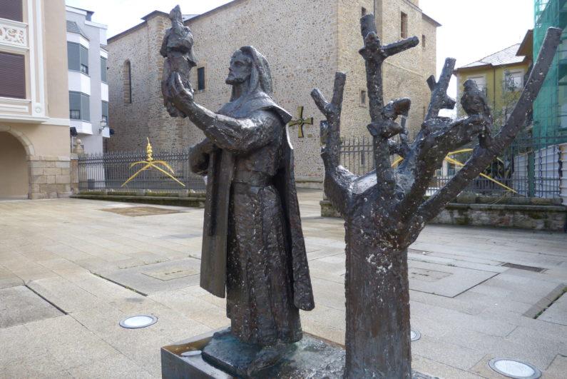 Templario y Virgen de la Encina