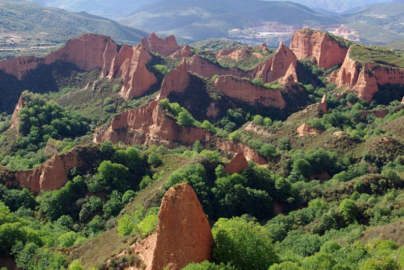 Yacimento romano de las Médulas – Destino Castilla y León