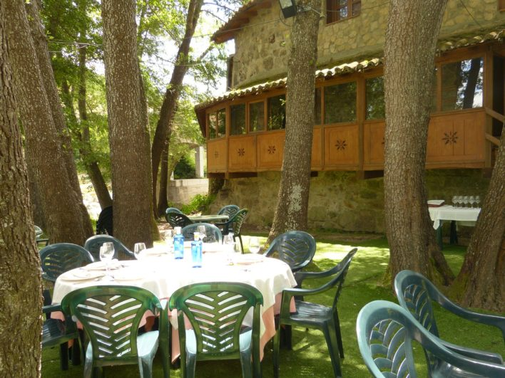 restaurante el molino de Miranda del Castañar Sierra de Francia