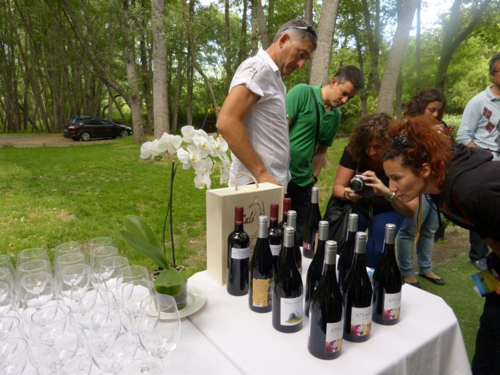 Cata de vinos D.O.P Sierra de Salamanca