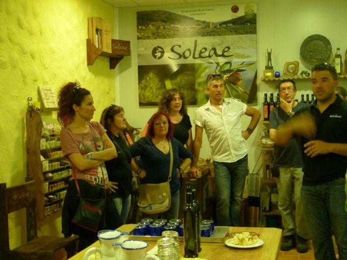 Oleoturismo en Soleae, Herguijuela de la Sierra, Salamanca