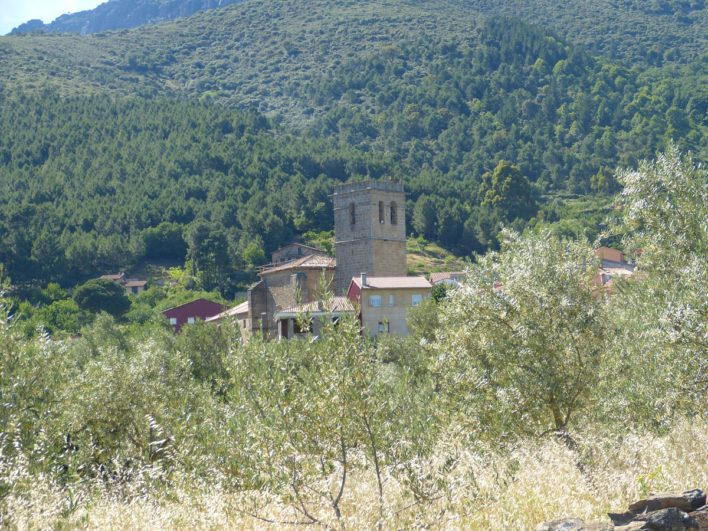 vistas de Herguijuela de la Sierra
