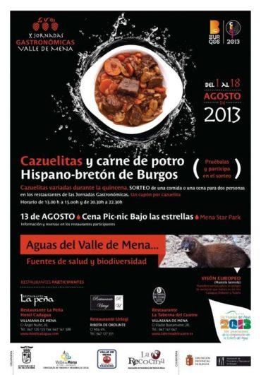 X jornadas Gastrónomicas del Valle de Mena en Burgos, 2013