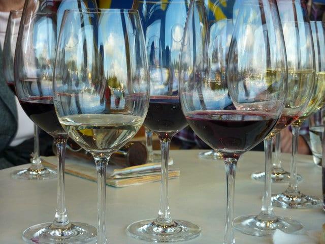 El gusto en la cata de vinos