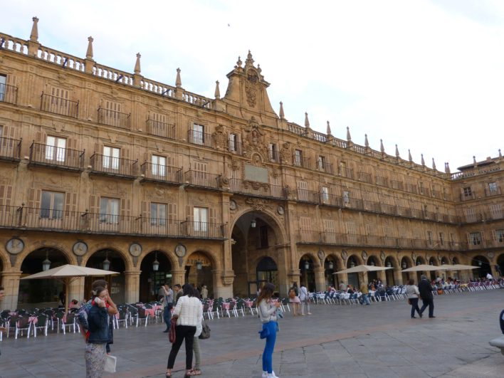 Plaza Mayor de Salamanca de día