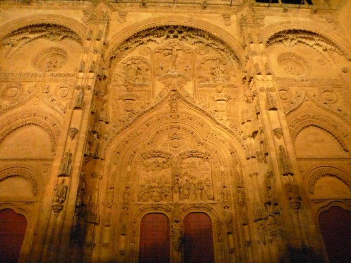 Portada principal de la Catedral nueva de Salamanca 1