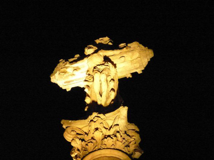 Cristo de Salamanca de noche 1