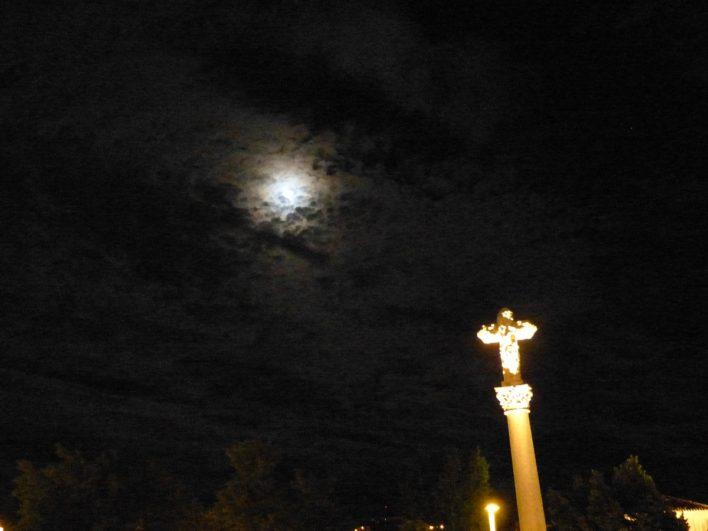 Cristo de Salamanca de noche 3