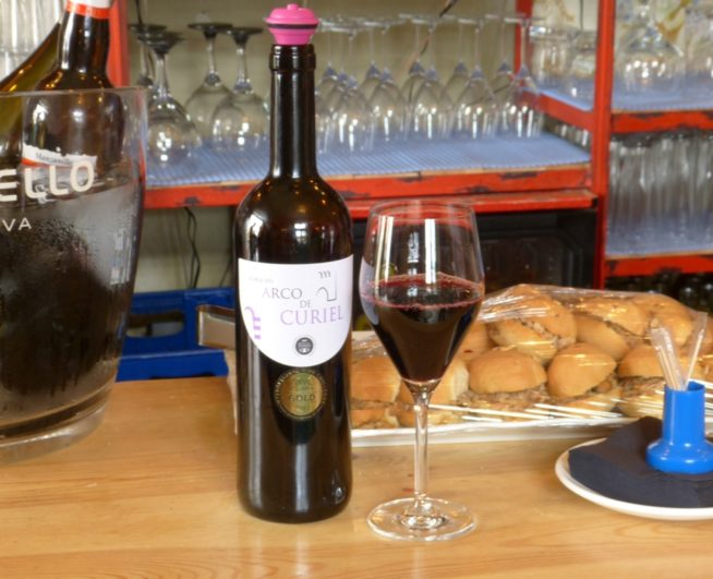 Cata del vino Arco de Curiel roble 2011