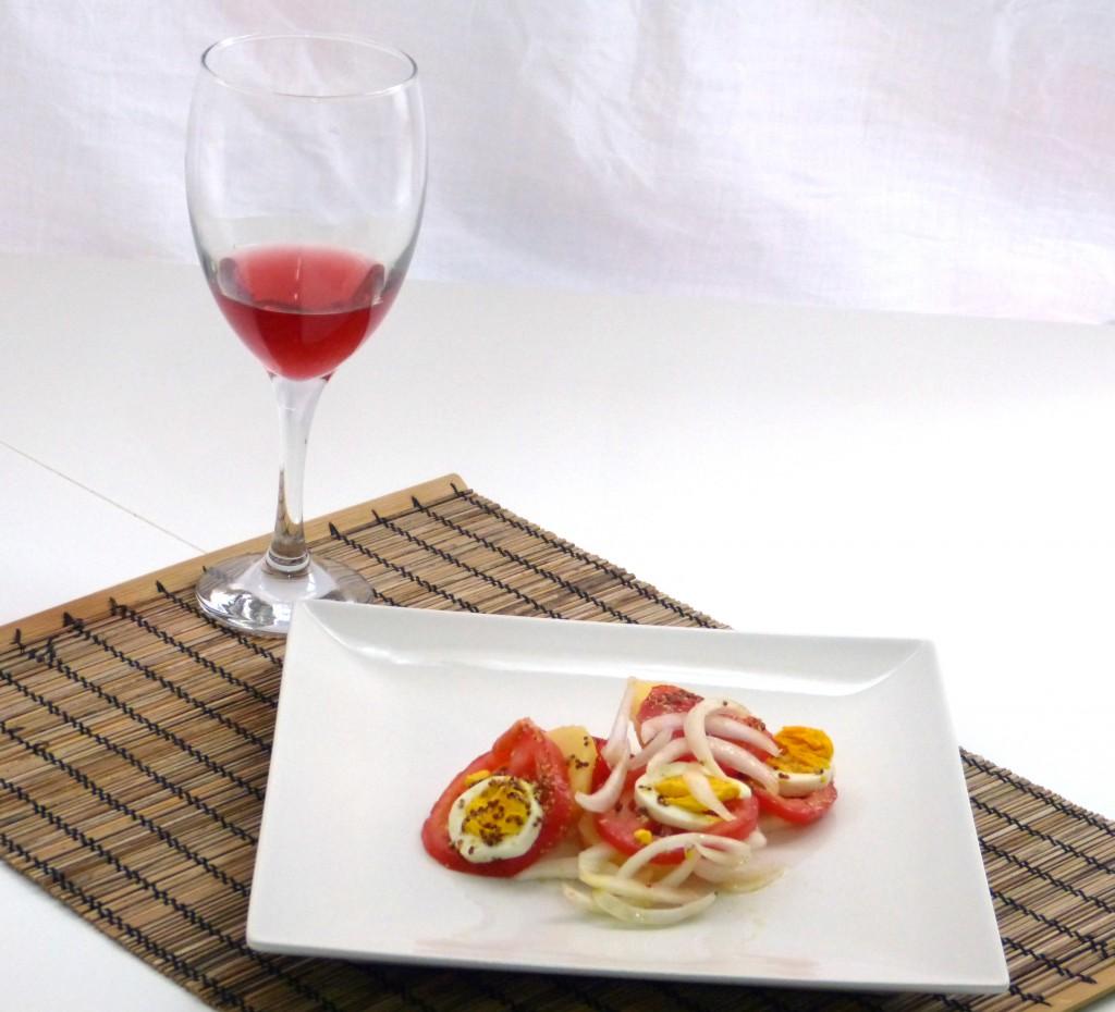 Maridaje de el vino rosado Ladybird