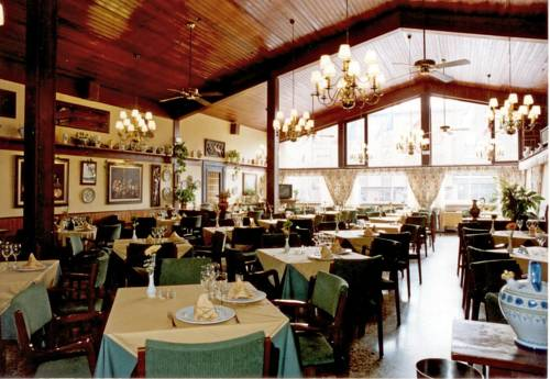 Comedor del Restaurante Valentin en Aguilar de Campoo