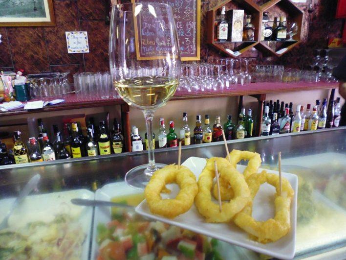 Propuesta de maridaje del vino blanco Oliegos