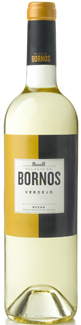 Botella de Palacio de Bornos 100% verdejo del 2012