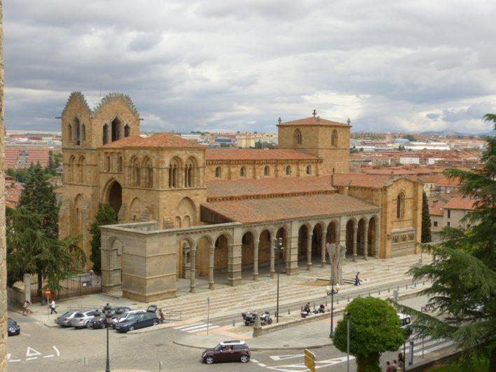 Vista de la Basílica de San Vicente