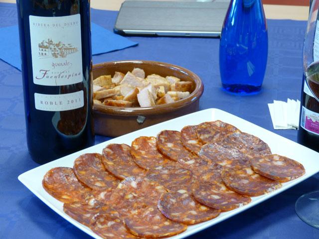 cata de vino roble Fuentespina