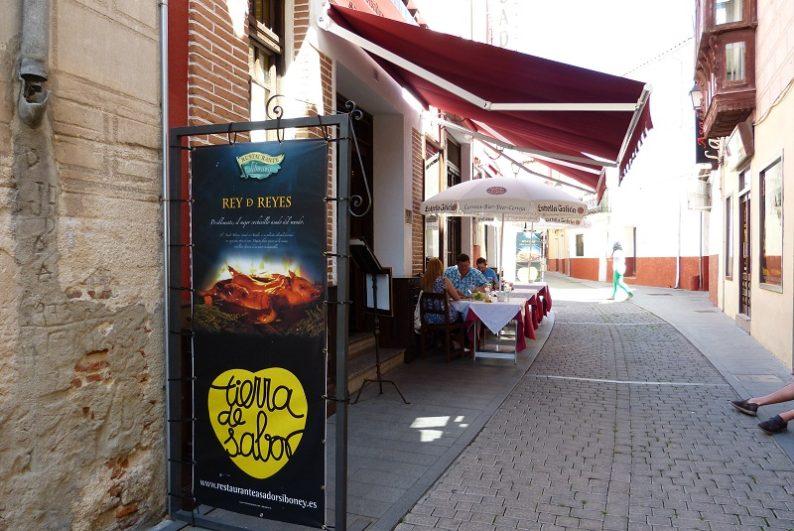 Restaurante 'Rey de Reyes' en Arévalo