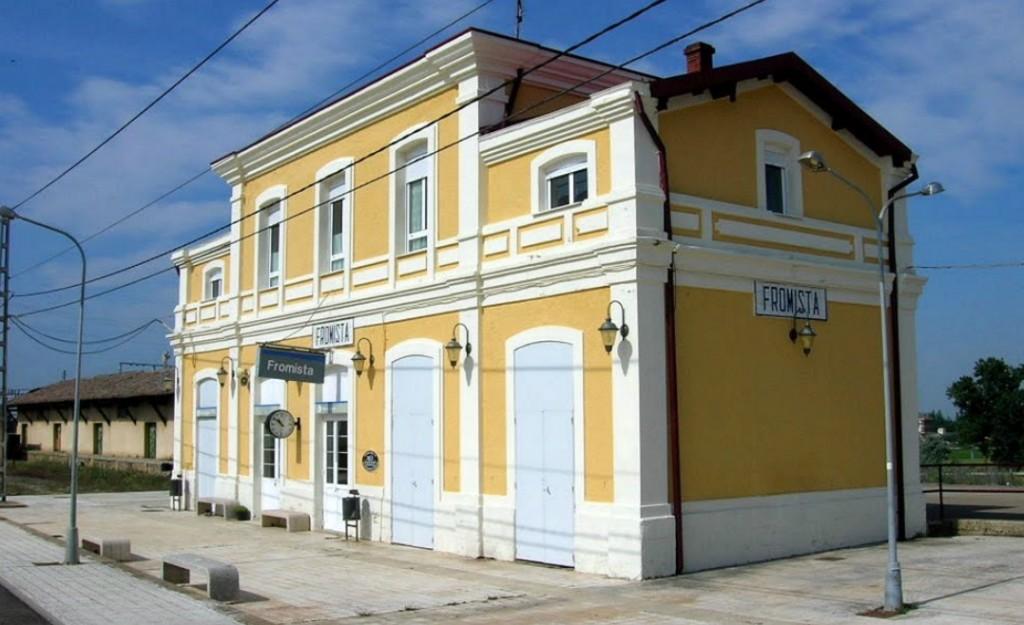 Historia de Frómista Estación de ferrocarril de Fromista
