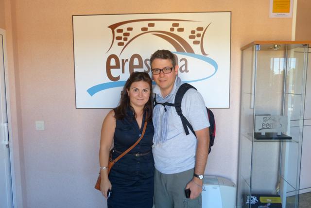 Visita a la fábrica de embutidos Eresma en Tierra de Pinares