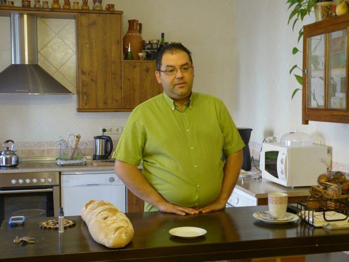 José Antonio, el dueño de la Casa Rural 'La Paca'