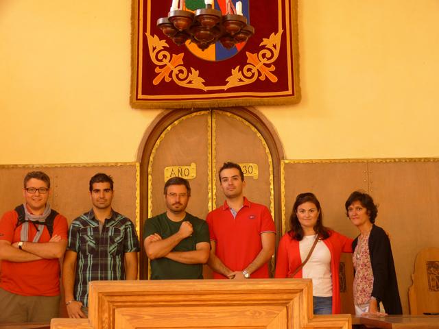 El ayuntamiento de Coca, en tierra de pinares