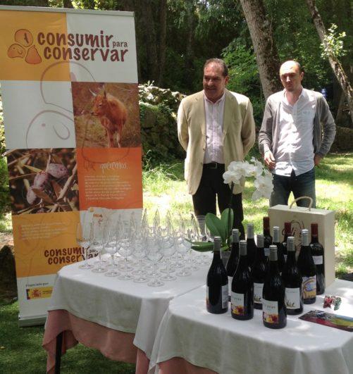 Cata de vino blanco la zorra Fuente: con tapas y a lo loco blog