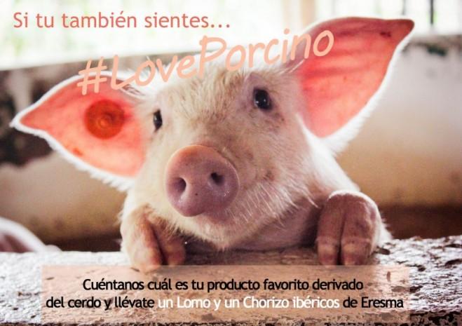 Partipa en nuestro #LovePorcino