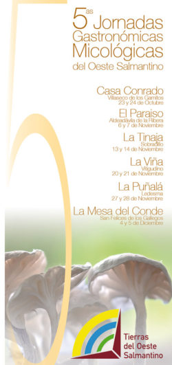jornadas micológicas gastronómicas Oeste de Salamanca Fuente: www.adezos.es
