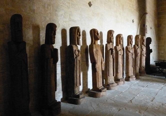 Colección Pantocratos en Santa Cecilia de Aguilar de Campoo