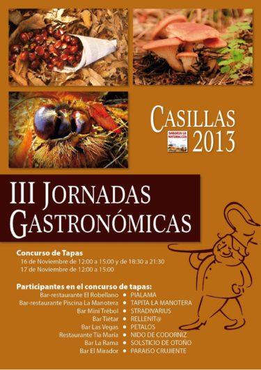 Jornadas Gastronómicas Casillas 2013
