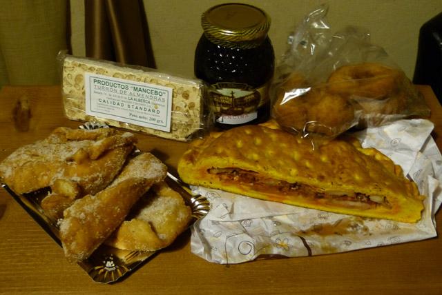 Hornazo de La Alberca y otros productos típicos