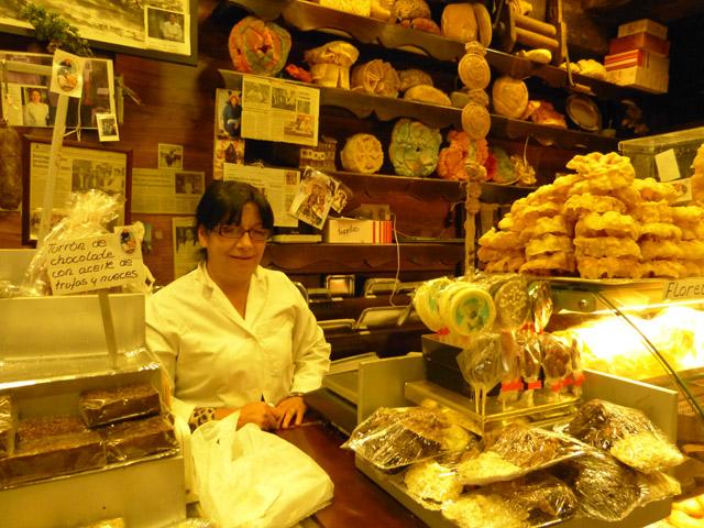 Pastelería pan negro en la Alberca, Salamanca