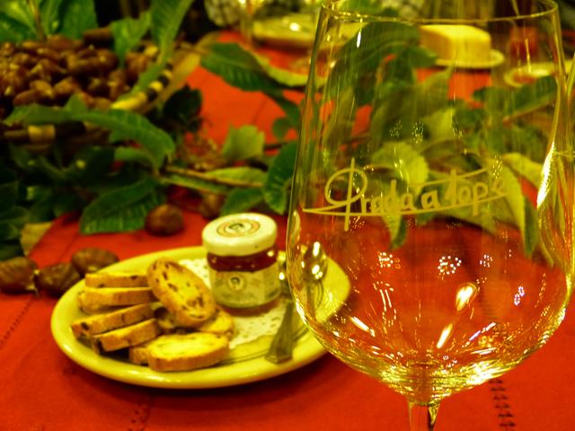 Cena en el restaurante Palacio de Canedo, Bodegas Prada a Tope