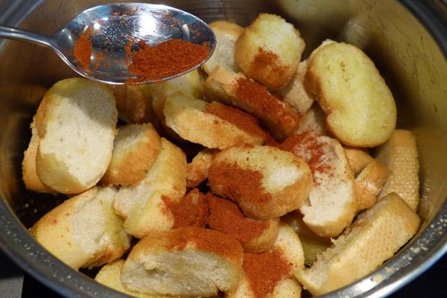 Pan con pimentón