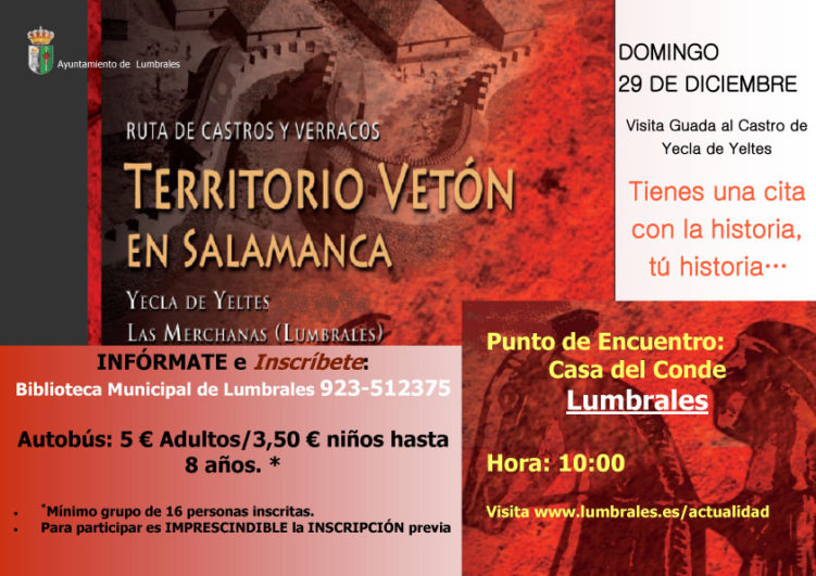 Ruta de los castros en Yecla Salamanca