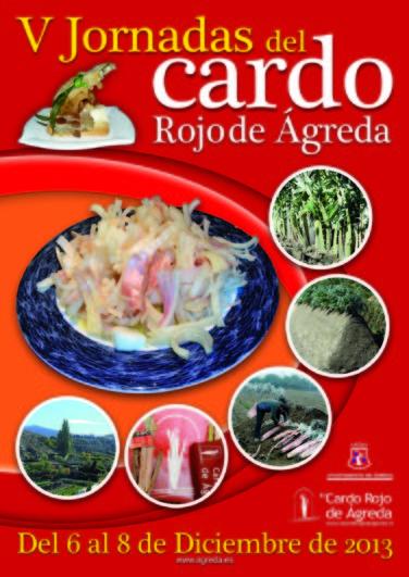 CARTEL JORNADAS CARDO 2013 en Ágreda, Soria