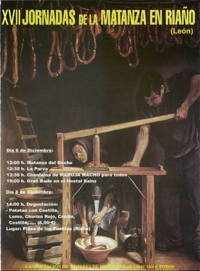 Cartel XVII Jornadas de la Matanza en Riaño, León
