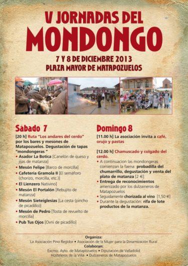 V jornadas del Mondongo en Matapozuelos, Valladolid