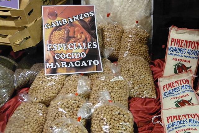 Garbanzos de Astorga especiales para el cocido maragato