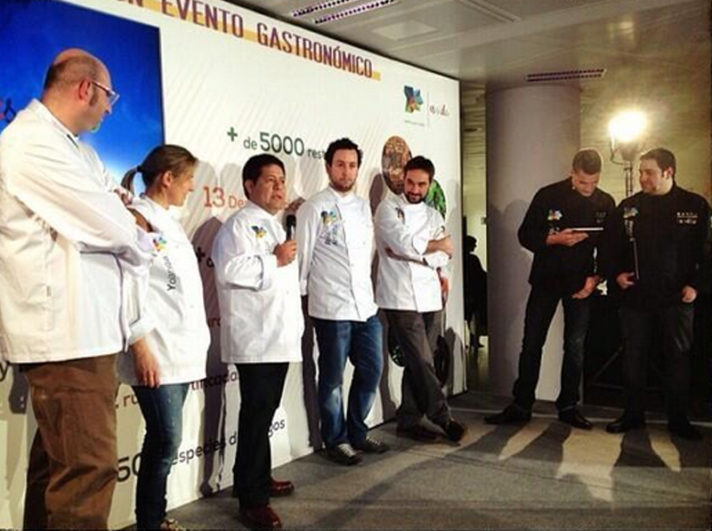 Juanjo y Yoli de @Cocinandos, Víctor Gutiérrez, @MACruzLaBotica