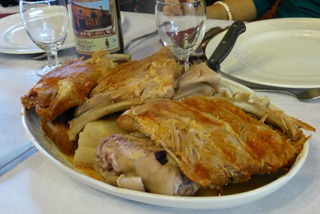 La carne en el cocido maragato