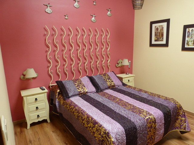 Habitación rosa del Palacio Yasmin Cobarrubias