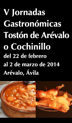 V Jornadas gastronomicas Tostón de Arévalo o cochinillo
