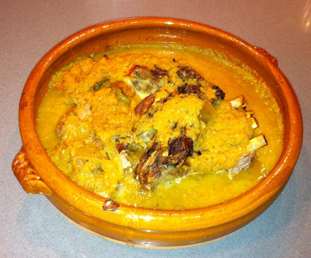 Receta costillas a la Zamorana con salsa