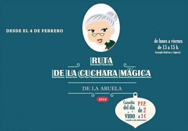 Ruta de la Cuchara Magica Valladolid 2014