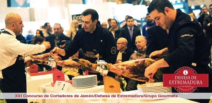 Cortadores de Jamón en el Salón de Gourmets 2014