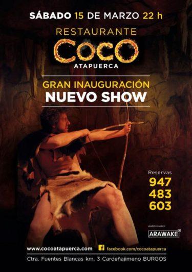 Nuevo espectáculo 2014 Coco Atapuerca Show