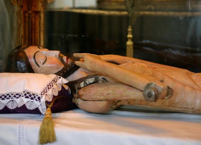 CRISTO DE LOS GASCONES (SEGOVIA) curiosidades de la Semana Santa en Castilla y León