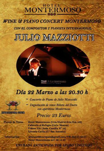 Concierto Julio Mazziotti en Aranda de Duero